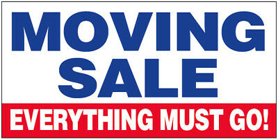 moving sale vinyl banner sign 2 3 4 6 8 10 12 20 ft wb