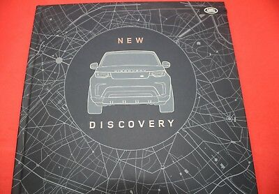 Land rover Range Press Kit on 8 Gb USB + Hard Cover Prospectus New Discovery