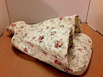 Hot Water Bottle Foot Warmer Shabby Chic Floral Heat Warmth Soothing Pain Relief