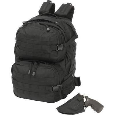 Wholesale lot of (10) Extreme Pak Black Backpack with Concealed Handgun Holster