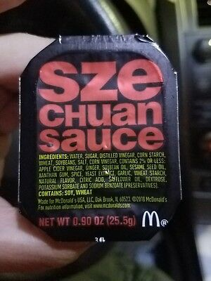 McDonald's Szechuan Sauce UNOPENED/SEALED