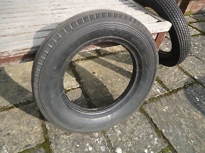 Vintage Car Tyre Dunlop 5.00 x 15 New Old Stock Good Tread (4)
