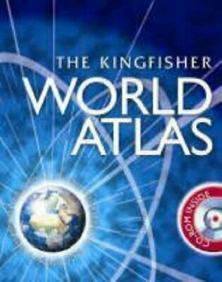 World Atlas (with CD) by Philip Wilkinson Mixed media product Book The Cheap