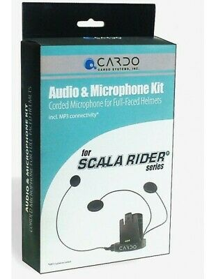 Rxau Kit Audio Cardo Scala Rider Q2 Pro Q2 Multiset Pro Version Microphone Wire