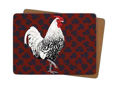 Leslie Gerry LGTMA010 Single Table Place Mat Rooster