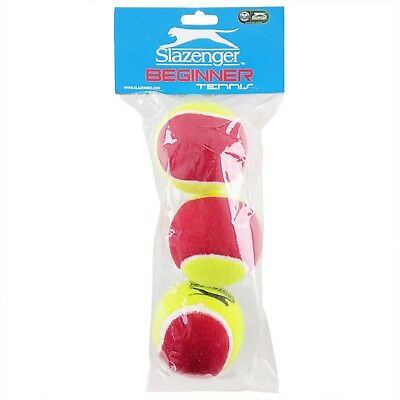 Slazenger Mini Tennis Balls | Red Stage 3 Balls | 3 or 60 Pack | ITF Approved