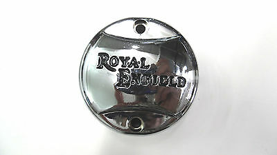 Royal Enfield Zündverteiler Deckel in Plastik verchromt (S)