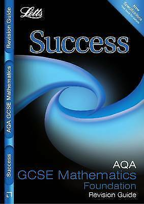 AQA Maths - Foundation Tier: Revision Guide (Letts GCSE Success), VARIOUS, New,