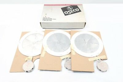 Box Of 3 New Oseco 11757-1 3in Stainless Rupture Disc 2-4psi @ 72f