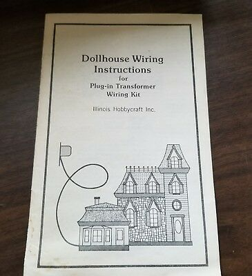 Fabulous Dollhouse Wiring Kit Instructions For Plug In Transformer Booklet Wiring Digital Resources Cettecompassionincorg