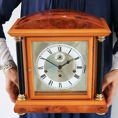 HERMLE German MANTEL TOP CLOCK Limited Edition! TRIPLE Chime + Westm HIGH GLOSS