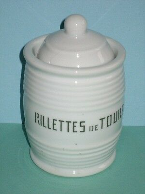 rillettes de Tours pot publicitaire