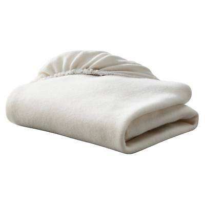 TL Care Knit Fitted Cradle Sheet Made with Organic Cotton 18 x 36 Natural Color