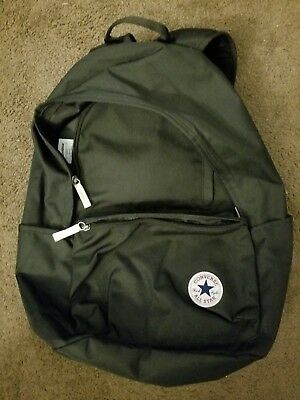 CONVERSE CORE ORIGINAL 10002652 Logo Patch Zipped Backpack f6723ae10c299