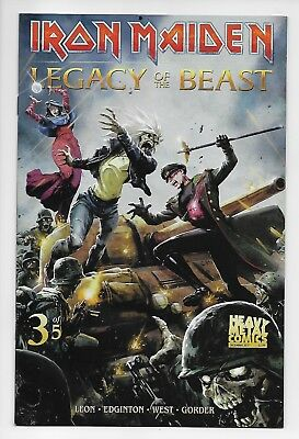 Iron Maiden Legacy of the Beast #3 - Cover A (Heavy Metal, 2018) - New (VF/NM)