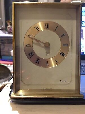 Antique/Vintage German Brass Carriage clock by Shatz