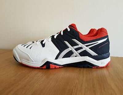 Asics Mens Gel Challenger 10 Tennis Shoes Trainers E504Y UK 6.5, 11.5