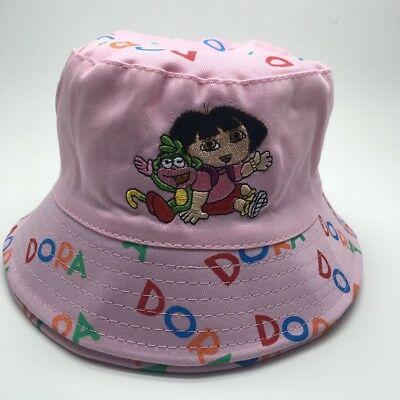 Children's Cotton Bucket Hat - Dora the Explorer