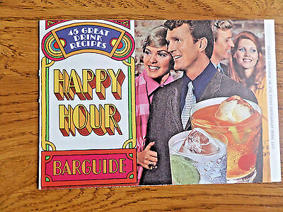 1970 Southern Comfort Liquor Magazine Bar Guide 46 Great Drinks Recipes Booklet