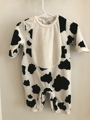 The Childrens Place Baby Cow Costume, Size 0-3 Months (sn228)