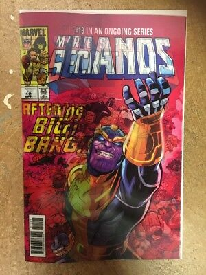 Thanos #13 Cosmic Ghost Rider 1st Lenticular Cover Comic 3-D LH Comic Book