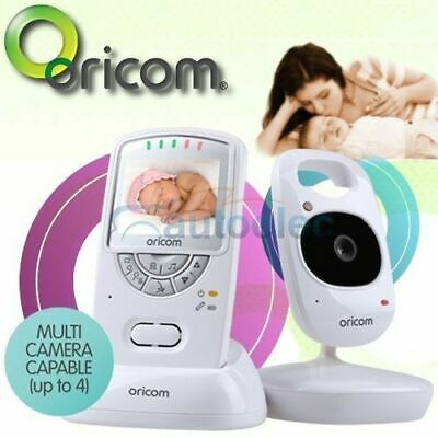 "New Oricom Secure 710 2.4"" Wireless Video 2.4Ghz Baby Babies Color Monitor 3 Yr"