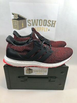 f1027eac17e 2018 ADIDAS ULTRA Boost 4.0 CNY Chinese New Year 8-13 Black Red ...