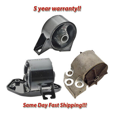Engine Motor /& Trans Mount Set 3PCS 2001-2002 for Hyundai Accent 1.6L for Manual