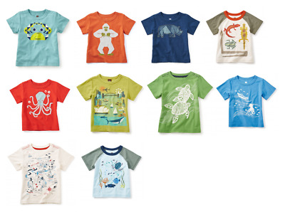 Tea Collection Graphic Baby Tee NWT choose design and size