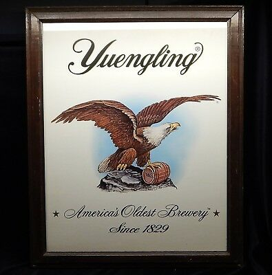 Vntg Yuengling Americas Oldest Brewery Since 1829 Advertising Wall Hanging Signs