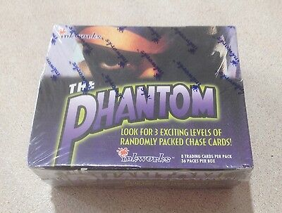 1996 Inkworks The Phantom (Movie) - Factory Sealed Box of 36 Packs