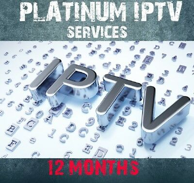 12 Month IPTV Subscription MAG 250 254 256 322 323 Android SmartTV M3U Openbox