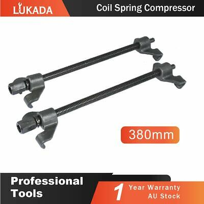 2x 380mm Coil Spring Compressor Clamp Heavy Duty Quality Car Truck Tool LUKADA