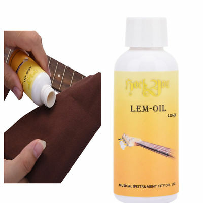 Guitar Fretboard Cleaner Ultimate Lemon Oil Removes Grime 60ml HQ