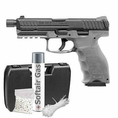 Heckler&Koch VP9 Tactical DX Gray Softair-Pistole 6 mm BB Gas BB  >0,5J (P18)