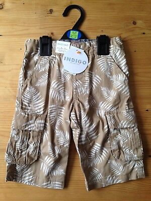 Marks And Spencer Boys Indigo Collection Shorts 3-4 Years BNWT