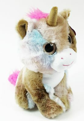 Blue Unicorn Fluffy Cuddly Soft Toy Girls Cute Pink Teddy Bear Birthday Gift Her