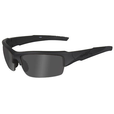 Wiley X WX Valor Glasses Smoke Grey Lens Ballistic Black Ops  Matte Black Frame