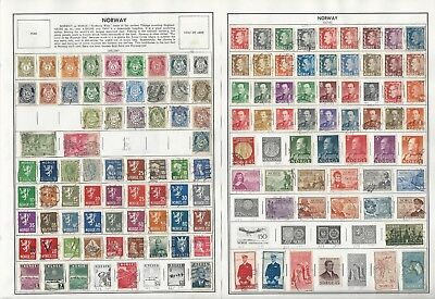 Norway, Nyasaland, Nyassa Collection 1856 to 1990 on 24 Harris Pages