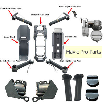 Left Right Front Rear Shell Arm Shaft Landing Gear Repair Part For DJI Mavic Pro