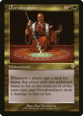 MTG Overabundance [English, Invasion, Free P&P]