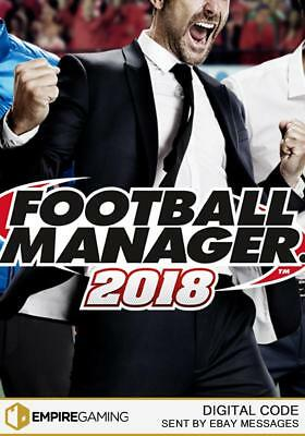 Football Manager 2018 PC / Mac / Linux (Steam Download Key)