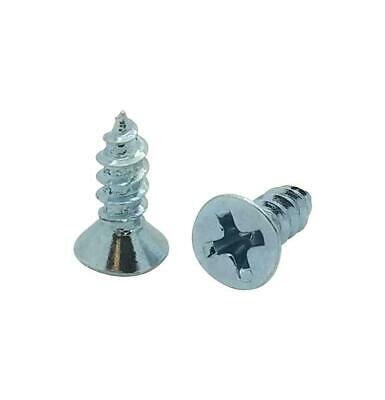 BCP386 500 Qty #6 x 1//2 Zinc Phillips Pan Head Wood Screws