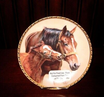 "American Artists Patience Fred Stone 1991 Horse Plate Number 3200  Size 6.5"" EUC"