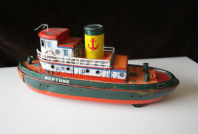 "Schiff Boot ""Neptune"" Trade Mark Modern Toys Made in Japan"