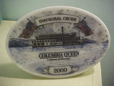 INAUGURAL CRUISE COLUMBIA QUEEN  A JORNEY OF DISCOVERY 2000 RIVER  Boat Souvenir