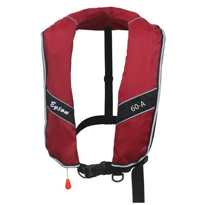 Extra Large Manual Inflatable Life Jacket Life Vest for Adults 275N Buoyancy