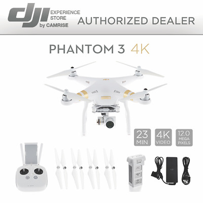 DJI Phantom 3 4K Quadcopter Drone with 4K Camera and 3-Axis Gimbal #CP.PT.000308