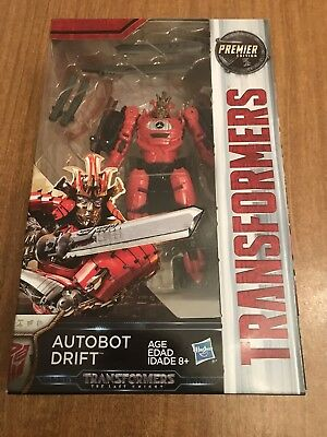 Transformers The Last Knight Premier Edition Autobot Drift Deluxe