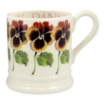 EMMA BRIDGEWATER POTTERY NEW HALF PINT MUG - Pansy